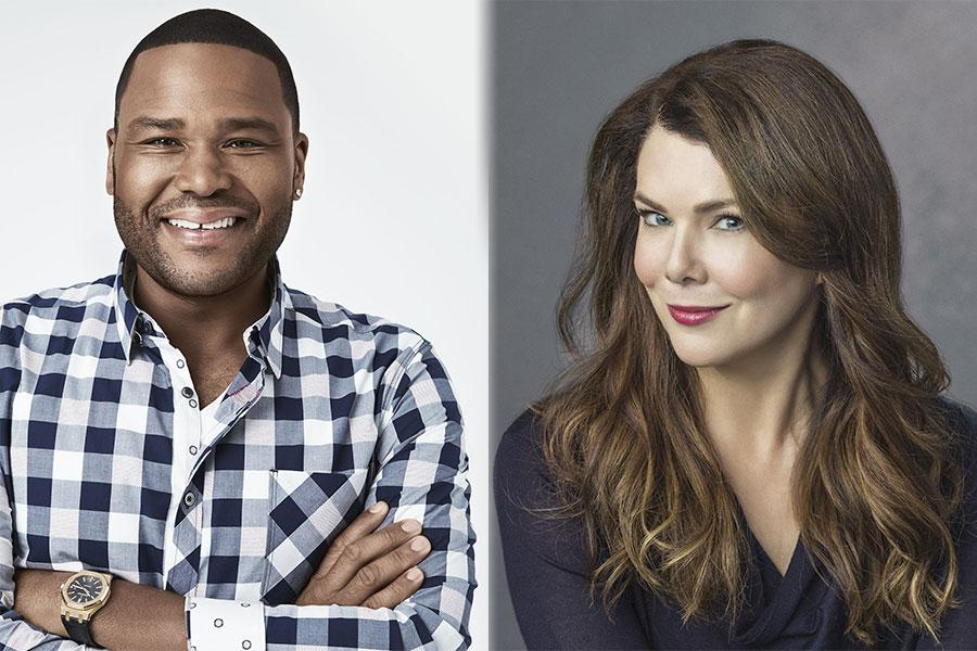 Anthony Anderson and Lauren Graham
