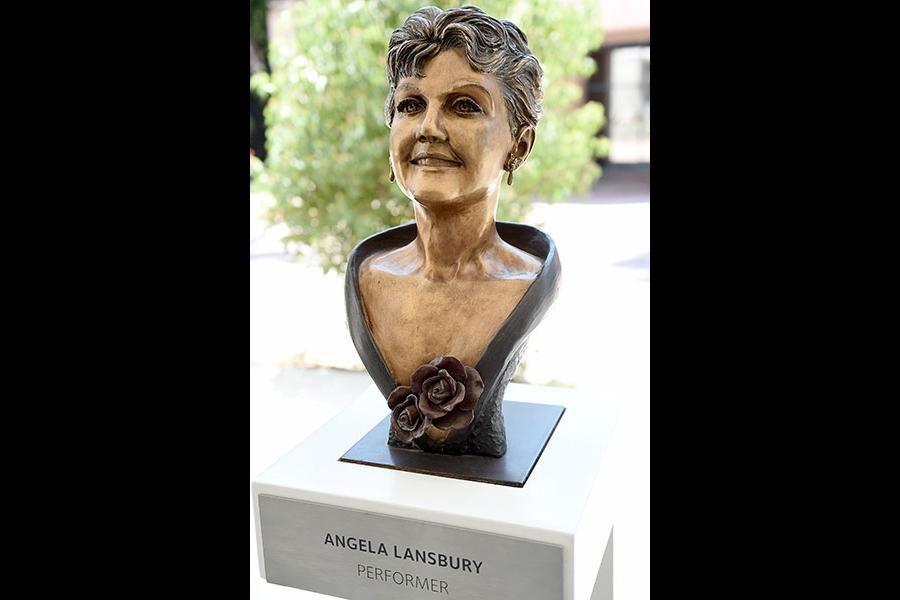 Bust of Angela Lansbury