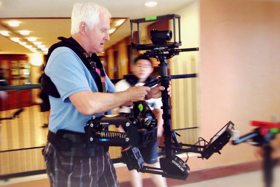 Garrett Brown, inventor of the Steadicam