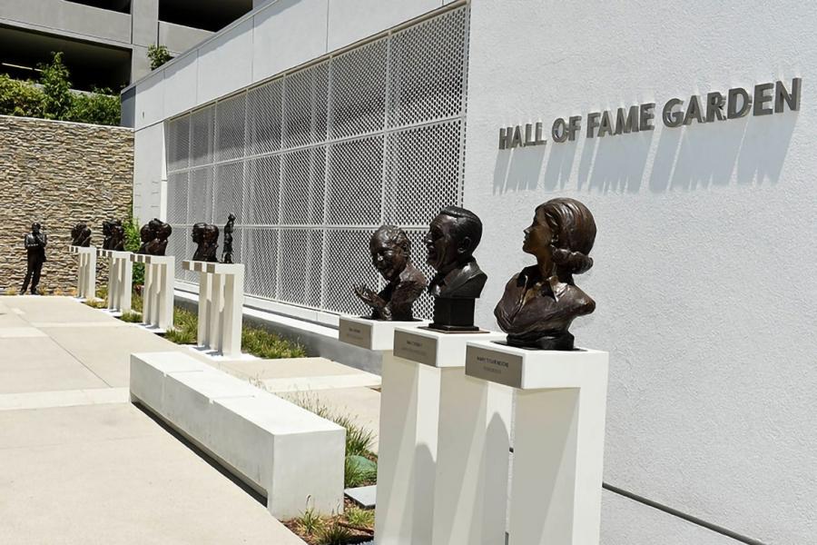 Hall of Fame Garden