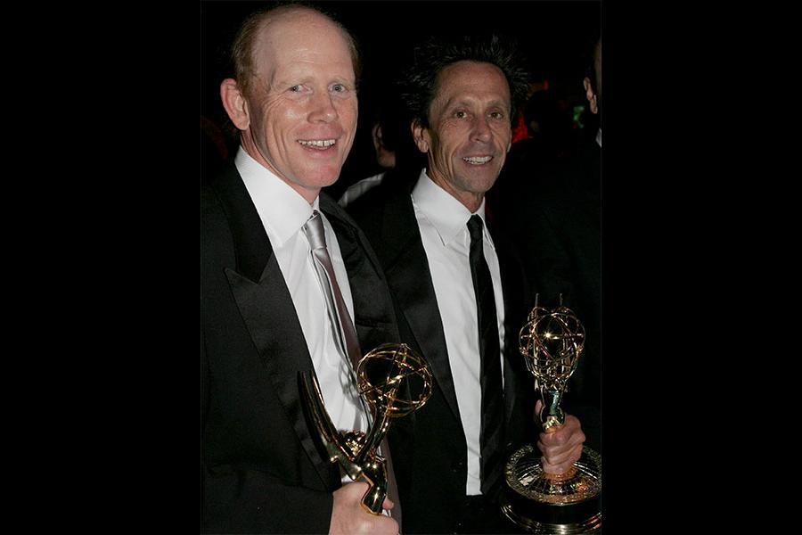 Ron Howard and Brian Grazer