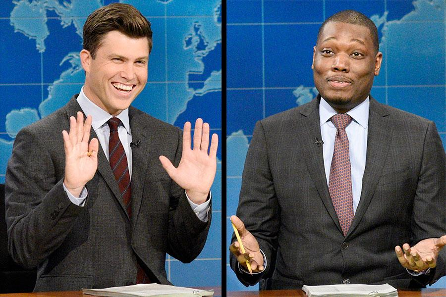 Colin Jost and Michael Che