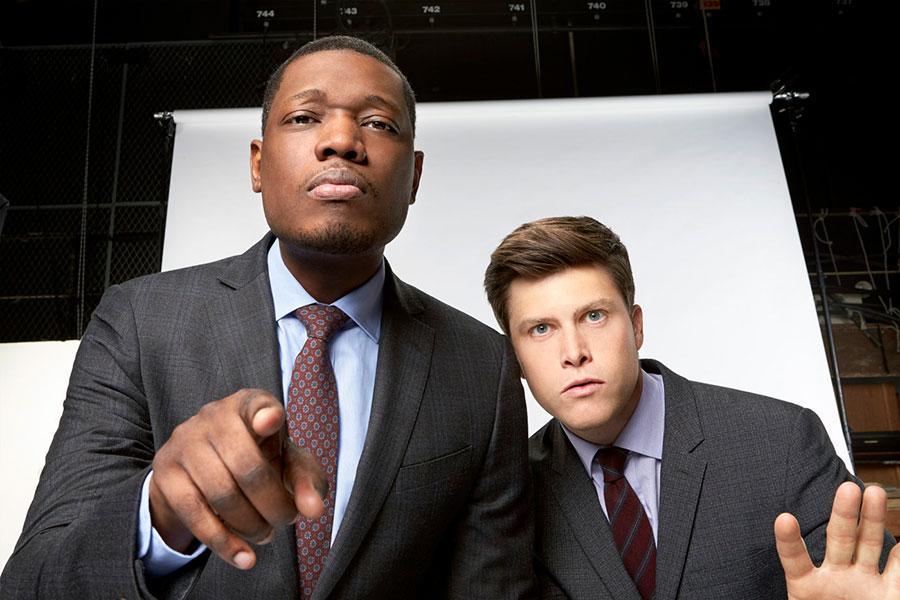 Michael Che and Colin Jost