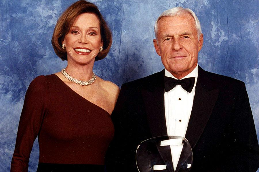 Mary Tyler Moore and Grant Tinker