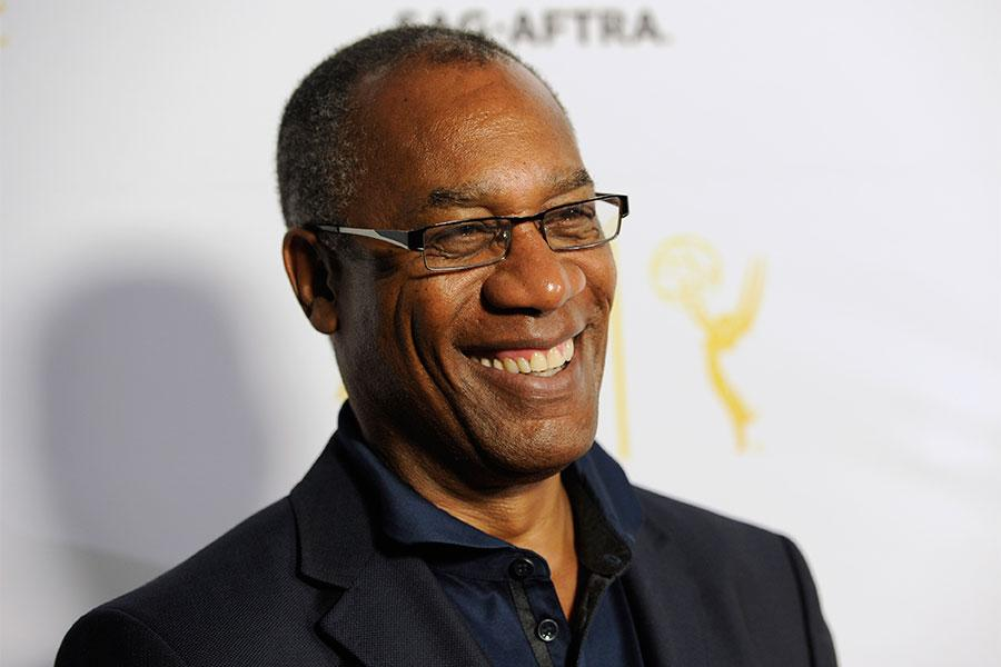Joe Morton of  Scandal arrives at Dynamic and Diverse: A 66th Emmy Awards Celebration of Diversity in the NoHo Arts District.