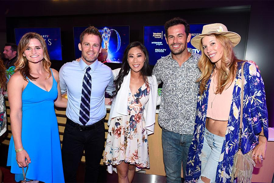 Claire Hoogenboom Bryan Dodds Cassie Minnick Matt Mullins And Alicia Vela Bailey At The 2018 Stunt Coordination Nominee Reception On Saturday August 25 2018 At The Television Academy S Saban Media Center In North