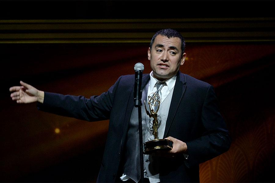 Horacio Cervantes onstage at the 67th Los Angeles Area Emmy Awards July 25, 2015, at the Skirball Cultural Center in Los Angeles, California.