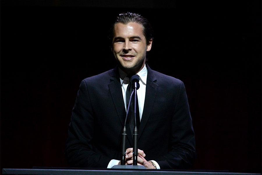 Julio Vaquero onstage at the 67th Los Angeles Area Emmy Awards July 25, 2015, at the Skirball Cultural Center in Los Angeles, California.