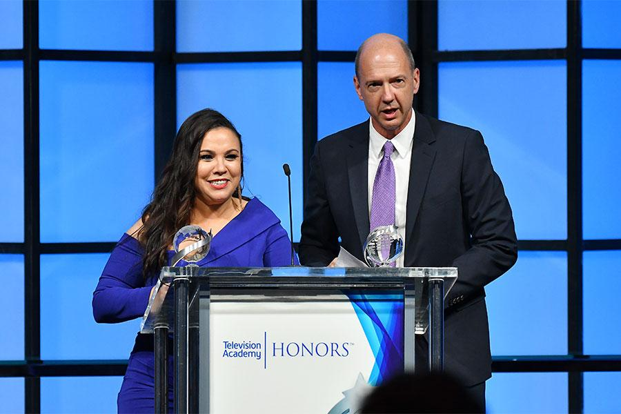 Gloria Calderon Kellett, Mike Royce