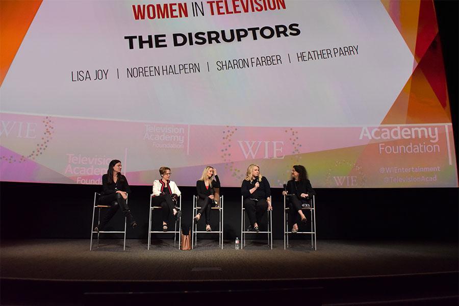 Lisa Joy, Noreen Halpern, Sharon Farber, Heather Parry