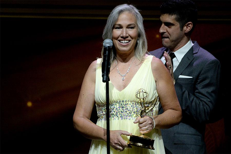 Marie Therese Hulett onstage at the 67th Los Angeles Area Emmy Awards July 25, 2015, at the Skirball Cultural Center in Los Angeles, California.