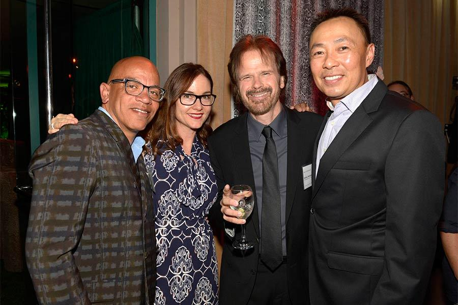 Rickey Minor, Lisa Feldman, Bob Christianson and Ray Yee