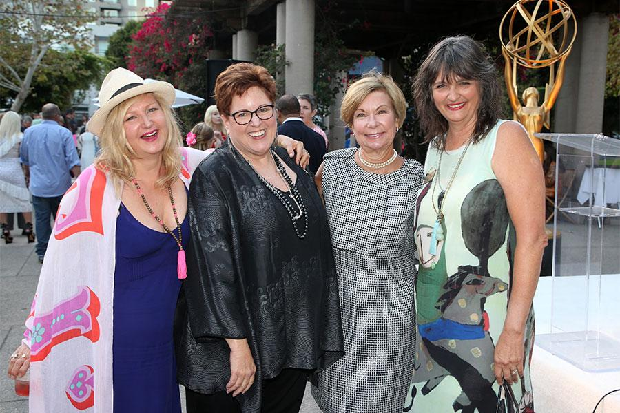 Television Academy costumes nominee reception