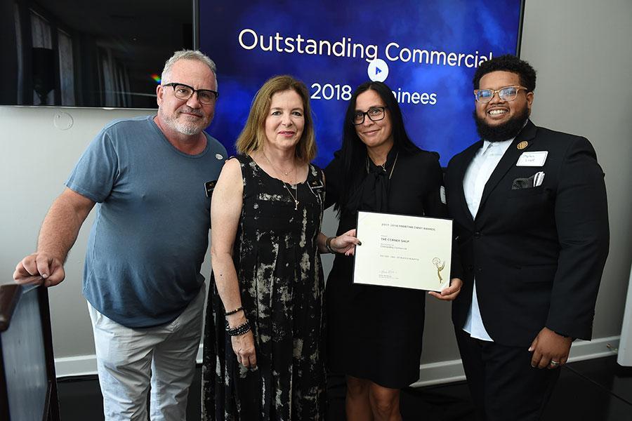 2018 Commercials Nominee Reception