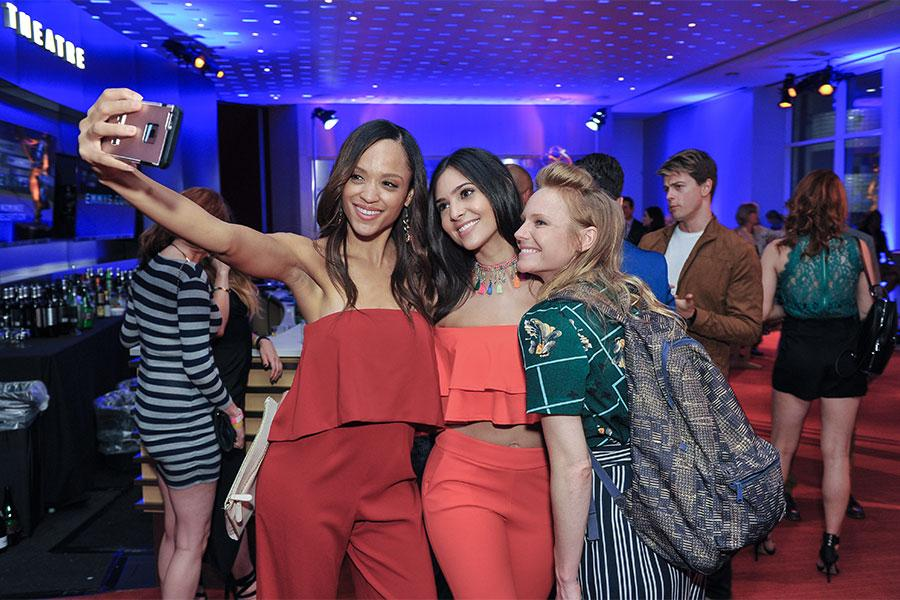 Sal stowers camila banus and marci miller attend the for Banus group