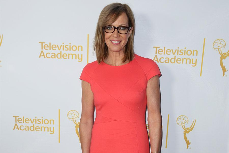 Allison Janney arrives at the Montage Beverly Hills for the 2014 Performers Peer Group Primetime Emmy