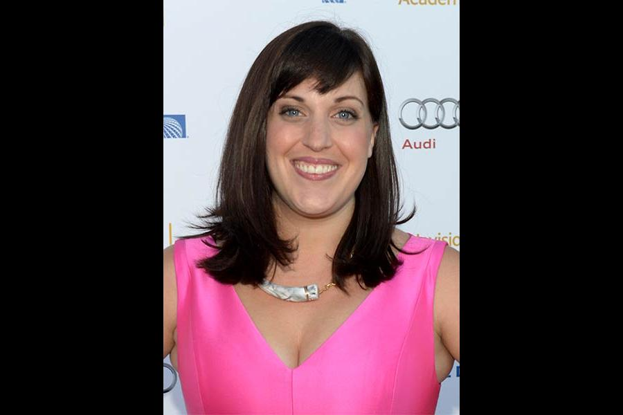 Allison Tolman arrives at the Performers Peer Group nominee reception in West Hollywood.