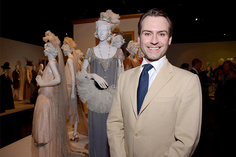 Downton Abbey costume designer Andrew Prince.