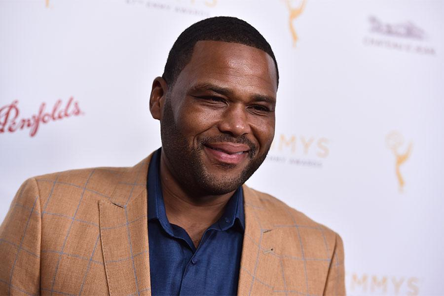 Anthony Anderson arrives at the Performers Peer Group Celebration August 24 at the Montage in Beverly Hills, California.