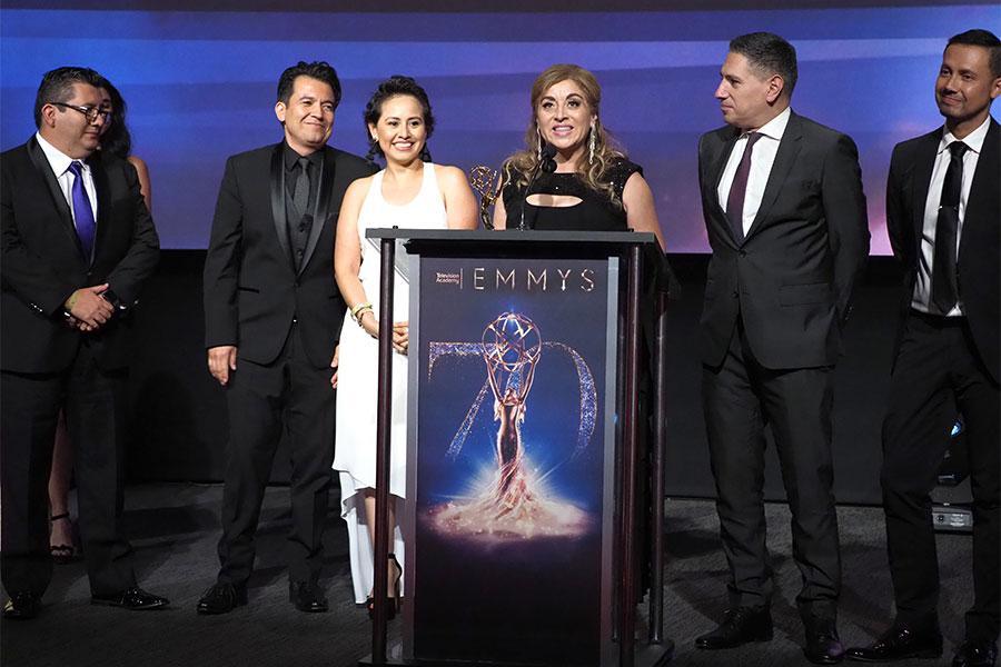 Television Academy Governor Beatriz Gomez, KMEX