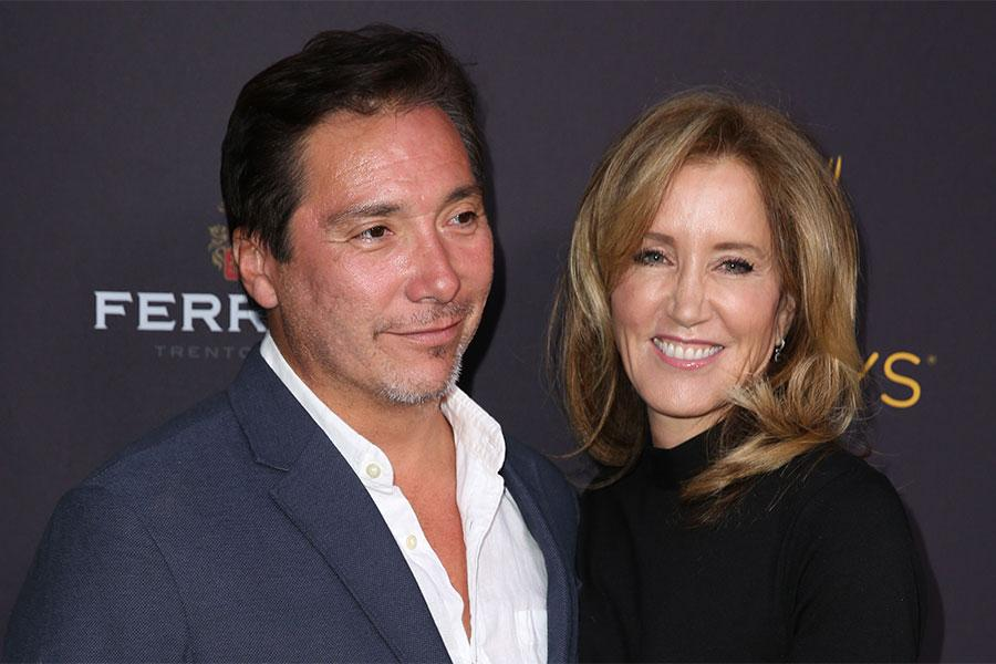 Benito Martinez and Felicity Huffman at the Performers Peer Group Celebration, August 22, 2016, at the Montage Beverly Hills in Beverly Hills, California.