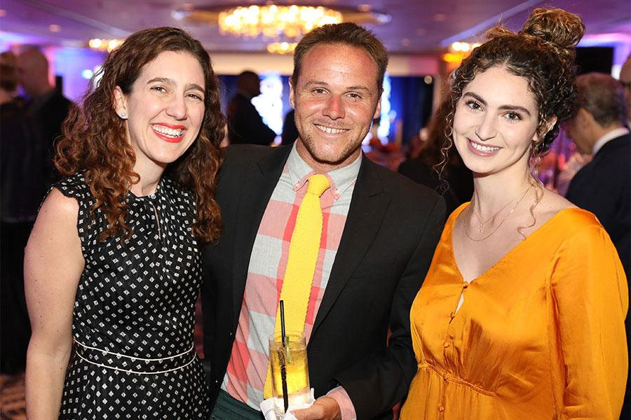 Biz Urban, Tim Pratt, Morgan Rudner, 12th Annual Television Academy Honors,