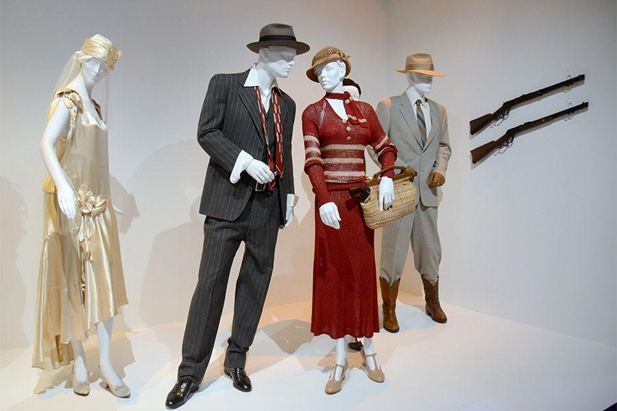 Costumes from Bonnie and Clyde.