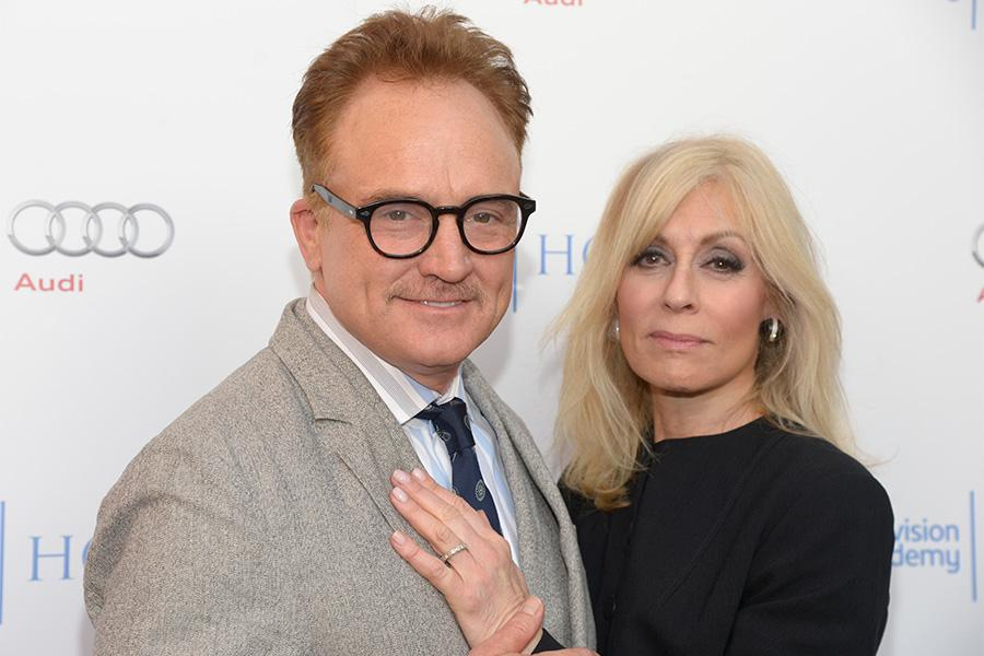 Bradley Whitford and Judith Light of Transparent arrive at the Eighth Annual Television Academy Honors, May 27 at the Montage Beverly Hills.Actor Jay Duplann and producer