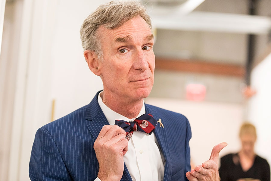 Bill Nye at the 38th College Television Awards presented by the Television Academy Foundation at the Saban Media Center on Wednesday, May 24, 2017, in the NoHo Arts District in Los Angeles.