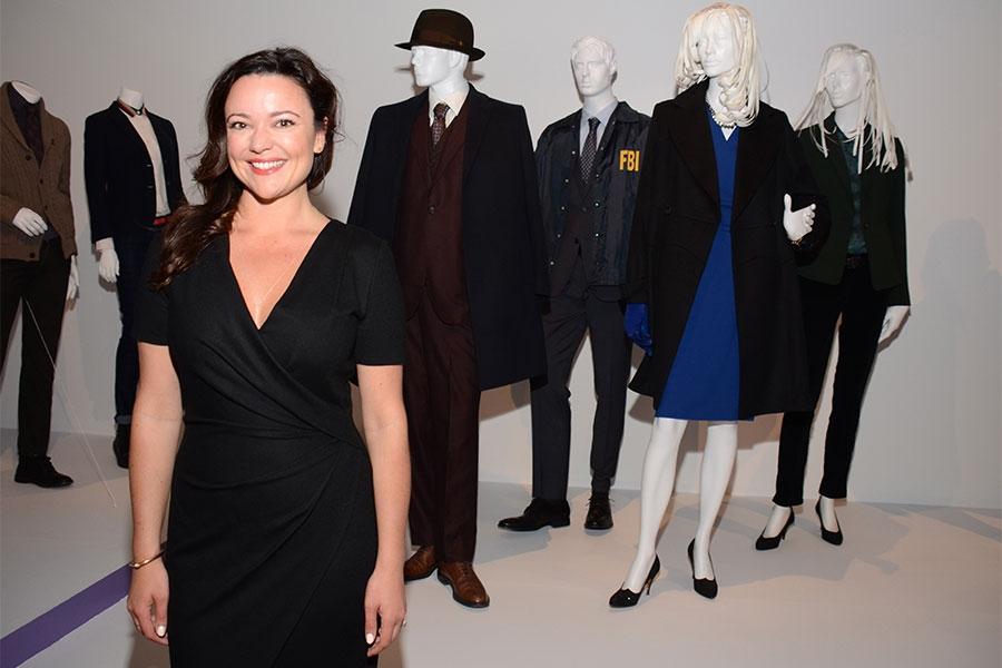 Christine Bean, costume designer for The Blacklist.