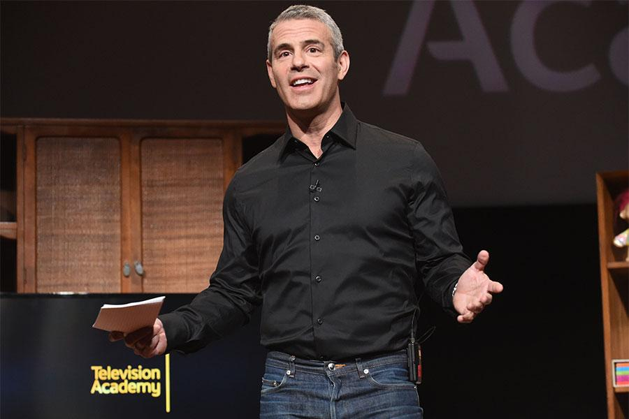 Andy Cohen at Mike Darnell: Reality TV's Great Provocateur at the Saban Media Center in North Hollywood, California, March 29, 2017.