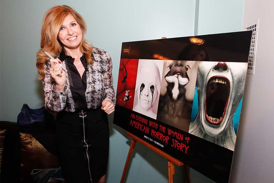 Connie Britton at An Evening with the women of American Horror Story.