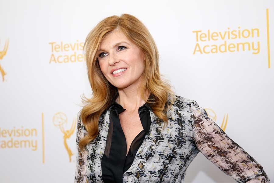 Connie Britton arrives at An Evening with the women of American Horror Story.