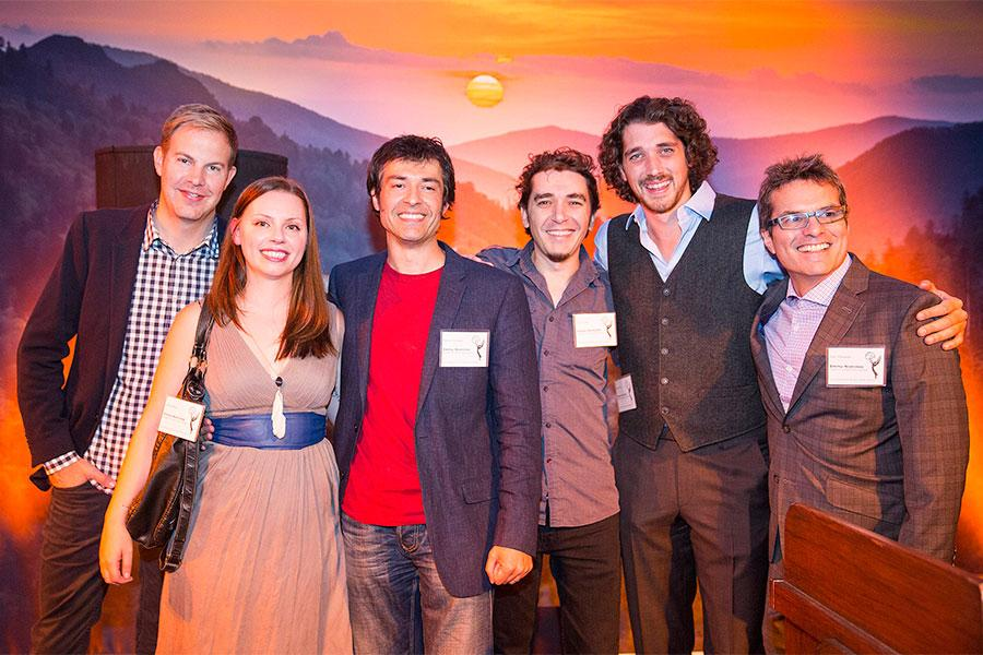 The Special Visual Effects team for Cosmos at the Special Visual Effects Nominee Reception in North Hollywood, California.