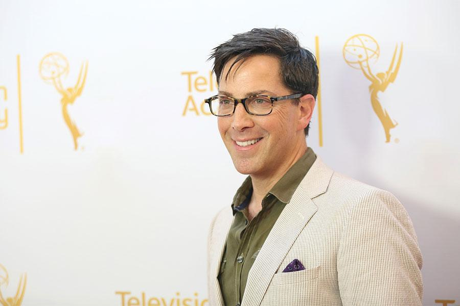 Dan Bucatinsky arrives at the Montage Beverly Hills for the 2014 Performers Peer Group Primetime Emmy nominee reception.