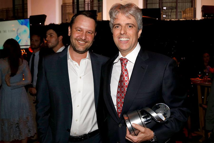Dan Fogelman and Scott Silveri at the 2017 Television Academy Honors at the Montage Hotel on Thursday, June 8, 2017, in Beverly Hills, California.