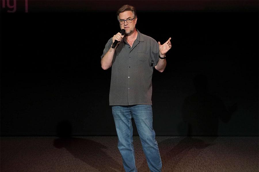 Dan Povenmire at Story TV: Adventures in Hollywood, presented Tuesday, June 13, 2017 at the Television Academy's Wolf Theatre at the Saban Media Center in North Hollywood, California.