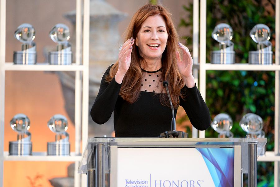 Host Dana Delaney at the awards presentation at the Eighth Annual Television Academy Honors, May 27 at the Montage Beverly Hills.