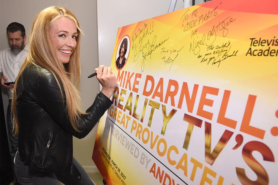 Cat Deeley at Mike Darnell: Reality TV's Great Provocateur at the Saban Media Center in North Hollywood, California, March 29, 2017.