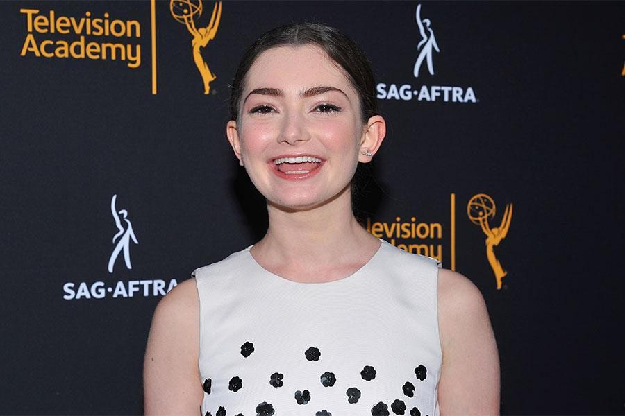 Emily Robinson at the Television Academy's Dynamic and Diverse event, August 25, 2016, at the Saban Media Center, North Hollywood, California.