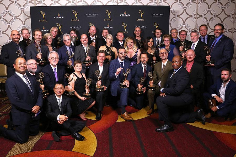 2018 Engineering Emmy Award winners
