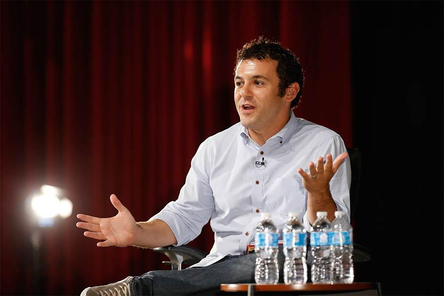 Fred Savage at Primecuts 2014 in North Hollywood, California.