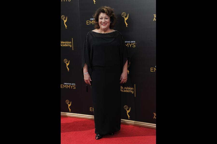 Margo Martindale on the red carpet at the 2016 Creative Arts Emmys.