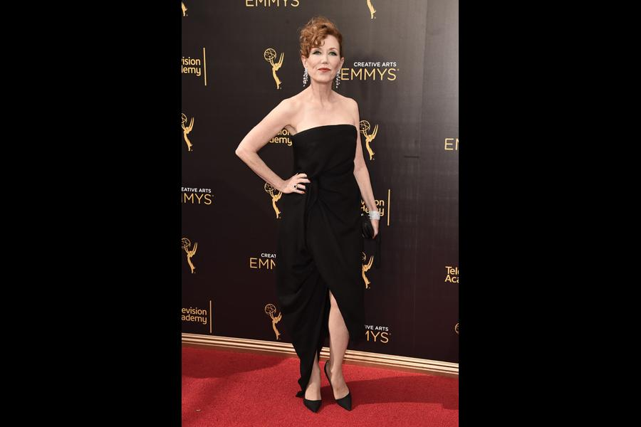 Anne Morgan on the red carpet at the 2016 Creative Arts Emmys.