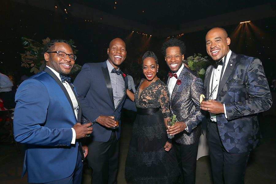 Tichina Arnold and Sons of Serendip at the 2016 Creative Arts Ball.