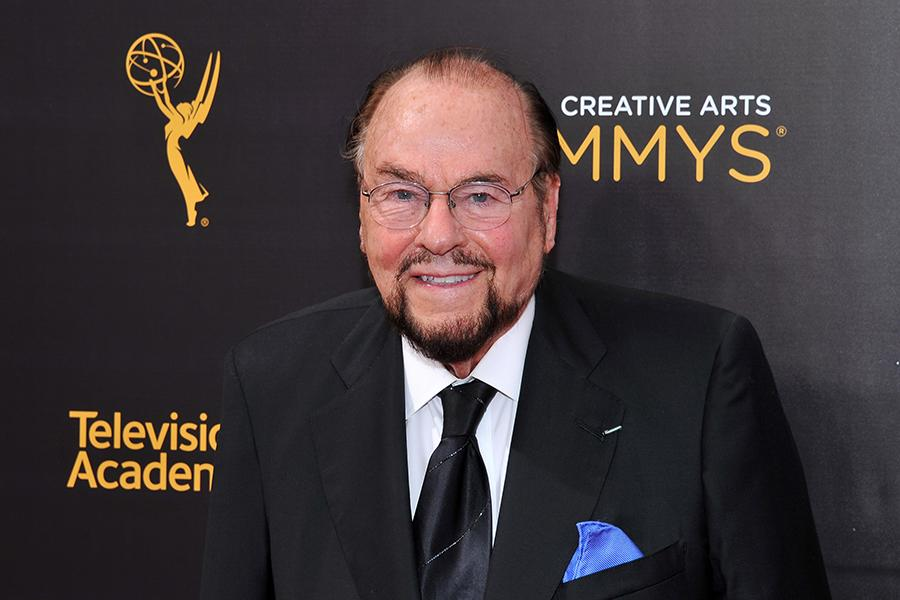 James Lipton on the red carpet at the 2016 Creative Arts Emmys.