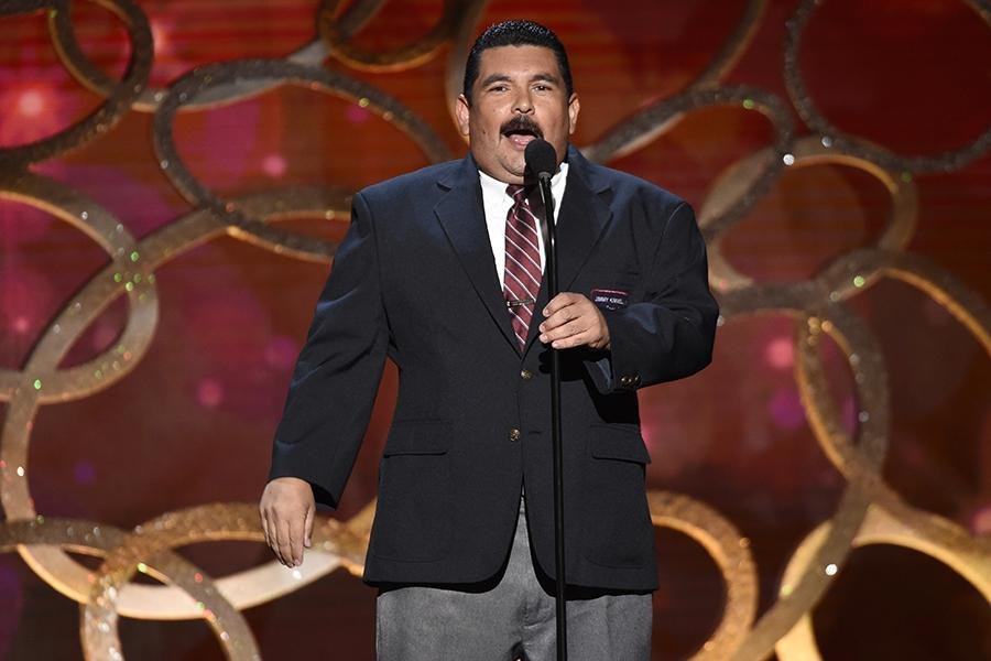 Guillermo Rodriguez speaks during night two of the Television Academy's 2016 Creative Arts Emmys.