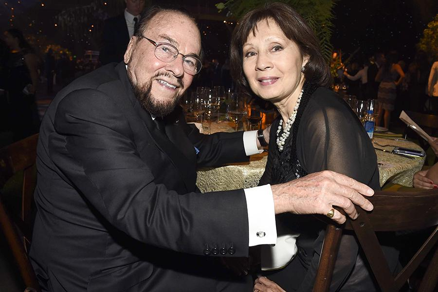 James Lipton, left, and Kedakai Turner at the 2016 Creative Arts Ball.