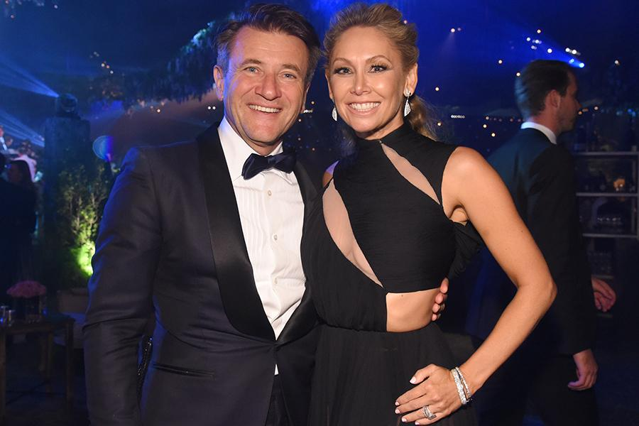 Robert Herjavec and Kym Johnson at the 2016 Creative Arts Ball.