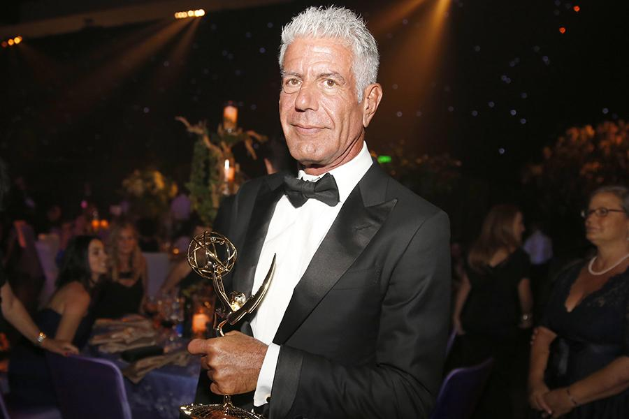 Anthony Bourdain at the 2016 Creative Arts Ball.